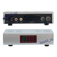 RF Modulator UHF Channel 21-69 Scart CCTV to Aerial TV RCA Audio Video AV HF