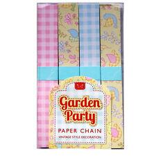 Cadenas De Papel quailty Fiesta de jardín decoración de estilo vintage – – 200 enlaces