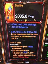 Diablo 3 Primal Antigua Starfire nuevo Parche 2.5 asistente Varita Xbox One softcore Mod