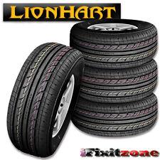 4 Lionhart LH-303 185/70R13 86T All Season High Performance Tires 185/70/13 New