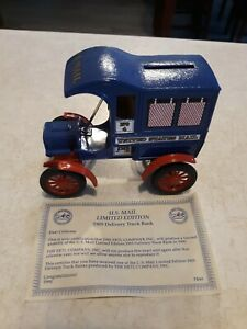 Vintage ERTL U.S. Mail Truck Bank, Limited Edition Collector's Series, #7641