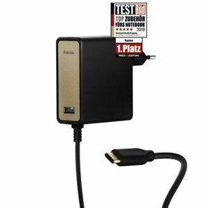 *ORIGINAL Hama USB Typ C Netz Ladegerät Netzteil Tablet PC Notebook Apple NEU*