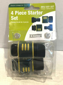 Set of 2 Melnor Quick Connects For Garden Hoses 15MQCCBV FAST SHIP