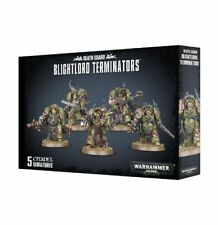 Death Guard Blightlord Terminators Games Workshop Warhammer 40.000 40k 8th 43-51