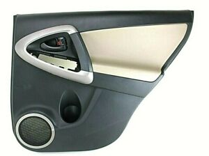 Door Check Rear Left Right Driver Passenger Pair fits Toyota RAV4 2006 to 2012