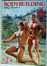 UK Bodybuilding Monthly July 1981 Vol 4 No 10 Angelita Lesta & Steve Newton