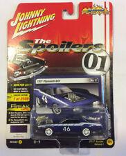Johnny Lightning 1:64 Street Freaks The Spoiler 1971 Plymouth GTX Custom Blue