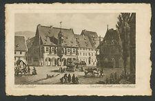 Alt-Goslar  Kaiser Worth und Rathaus