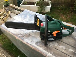 """Performance Power 40cm/16"""" Petrol Chainsaw in Good Used Condition Herefordshire"""