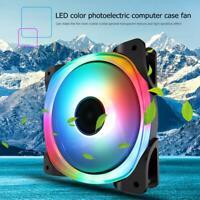 Jonsbo 34 RGB LED Light Fluid Bearing Cooling Fan PC Case Chassis Heatsink Fan