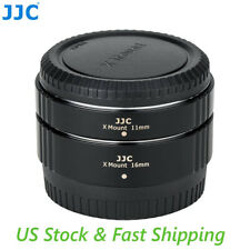 X-Mount Lens Macro Extension Tubes for Fujifilm (equiv. to MCEX-11 and MCEX-16)