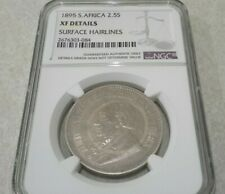 1895 South Africa 2 1/2 Shillings NGC