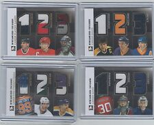 13/14 ITG Used Stat Leaders Jersey SL-04 Gretzky - Jagr - Dionne GOLD /10