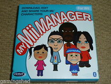 NINTENDO Wii MY MII MANAGER PACK - BRAND NEW! PC Software Games + USB Bluetooth