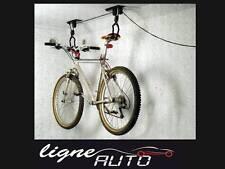 Ascenseur support rangement porte velo bicyclette gain de place dans le garage