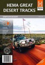 Hema Great Desert Tracks Simpson Desert GDT Hema's Map 7th Ed