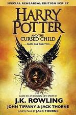 Harry Potter and the Cursed Child - Parts One & Two (Special Rehearsal Edition): The Official Script Book of the Original West End Production: Parts I & II by John Tiffany, J K Rowling, J. K. Rowling, Jack Thorne (Hardback, 2016)