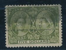[1632] Canada 1897 RARE stamp very fine used value $1100