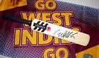 Courtney Walsh (West Indies legend) signed County Mini Cricket Bat + COA