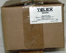 Telex Communications WM-2000 2 CH 2 Gang Headset Station NEW Factory Sealed BOX