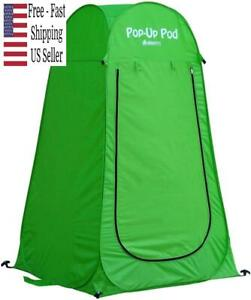 GigaTent Pop Up Pod Changing Room Privacy Tent Instant Portable Outdoor Shower