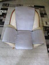 """Sesselschoner """"Island grau mit Taschen"""" Überwurf Sesselauflage Sitzauflage"""