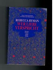 Rebecca Ryman - Wer Liebe verspricht  - 1998