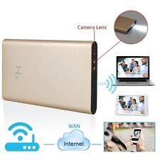 H.264 full hd 1080p sans fil wifi/P2P caméra espion mini dvr en 5000mAh power bank