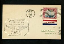 US Postal History Airmail CAM 9 Elgin IL 3/8/1920 AAMC #9SE14 North-West Airway