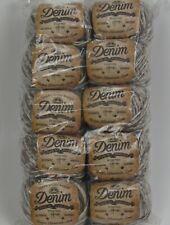 Dmc Natura 'Denim Cotton' Crochet Yarn/Thread (1) 10 pack New Variegated