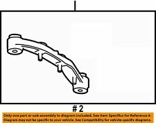 GM OEM Carrier Front Axle-Mount Bracket Right 23104735