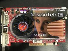 VisionTek X1550xge AGP 512mb EXCELLENT CONDITION💥