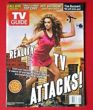 TV Guide - June 2008 - Denise Richards - Newsstand - Large Issue  -MINT