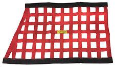 "Race Car 18"" x 30"" Dragonslayer Safety Equipment Red Slant Window Net #1502"