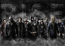 BATMAN THE DARK KNIGHT RISES - LEGEND ENDS POSTER PRINT PHOTO A4 260GSM