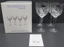 New Marquis by Waterford Brookside All Purpose Wine Glasses 4 pc Set
