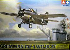 1/48 Grumman F4F-4 Wildcat Model Kit by Tamiya