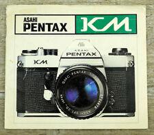 Asahi fotocamera manuale di istruzioni Pentax KM user manual istruzioni (x8057