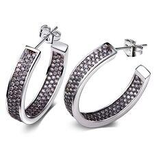 Ohrringe mit Swarovski Elements Luxus Ohrringe Ohrschmuck Creolen Ohrstecker New