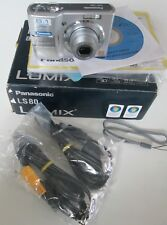 Panasonic Lumix DMC-LS80 8.1MP 3x Optical/4x Digital Zoom Camera