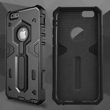Luxury Ultra-thin Shockproof Armor Back Case Cover for Apple iPhone 5 6s 6 Plus iPhone SE Black