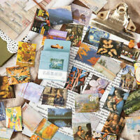 45pcs/pack Monet Artwork Adhesive Stationery Sticker Diy Album Scrapbooking YAN