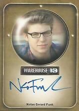 """Warehouse 13 Season 2 - Nolan Gerard Funk """"Todd"""" Autograph Card"""