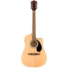 Fender FA-125CE Dreadnought Acoustic Electric Guitar - Natural