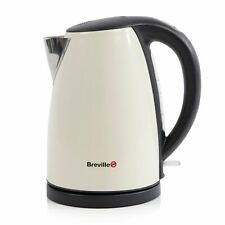 3KW BREVILLE FAST BOIL ELECTRIC CORDLESS JUG KETTLE STAINLESS STEEL CREAM