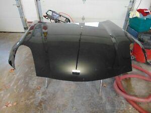 used black Pontiac GM OEM 06-09 Solstice-Hood Panel 89025309