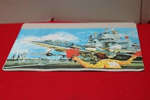 The Adventure - Navy Aircraft Carrier- 200 Piece Jigsaw Puzzle - Complete