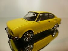 NEO MODELS SKODA 110R COUPE - YELLOW 1:43 - EXCELLENT - R29