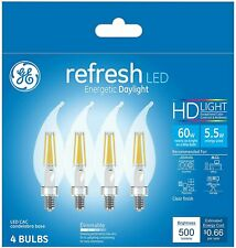 General Electric 4pk 60W Refresh LED Light Bulb