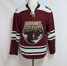 Hershey Bears Mens S Maroon White Polyester Reebok CCM Hockey Jersey AHL